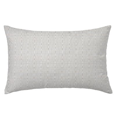 Dart Rectangle Throw Pillow Color: Pebble