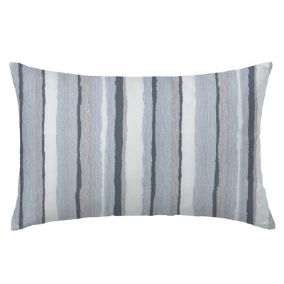 Mesa Rectangle Throw Pillow Color: Silvemine