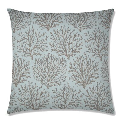 Coraline Square Throw Pillow Color: Pacific