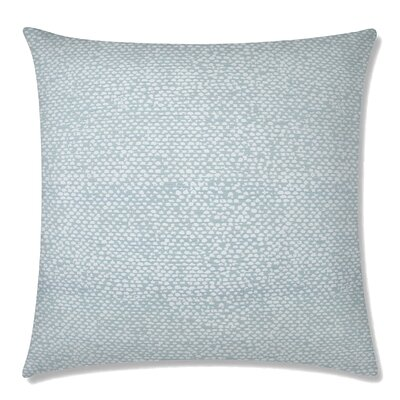 Conga Square Throw Pillow Color: Sea Glass