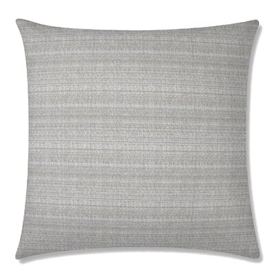 Handloom Square Throw Pillow Color: Dune
