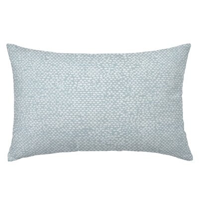 Conga Rectangle Throw Pillow Color: Sea Glass