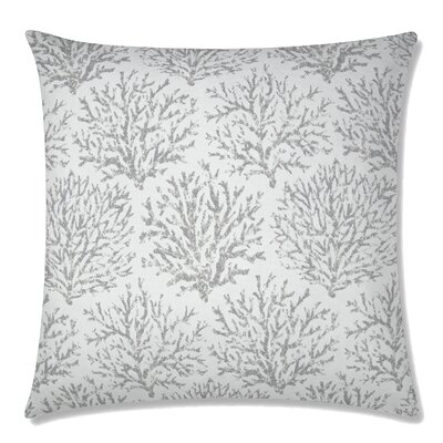 Coraline Square Throw Pillow Color: Driftwood