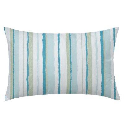 Mesa Rectangle Throw Pillow Color: Caribben