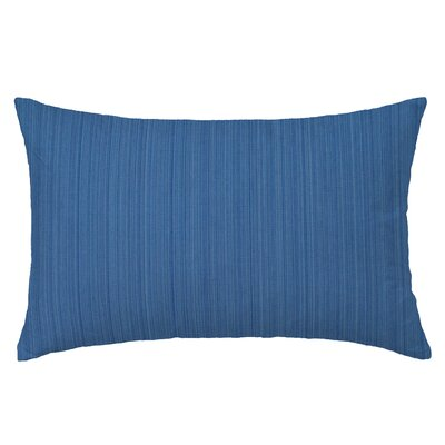 Breakers Rectangle Throw Pillow Color: Blue