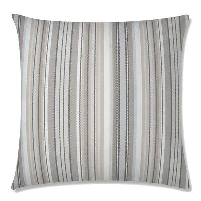 Dexter Square Throw Pillow Color: Walnut