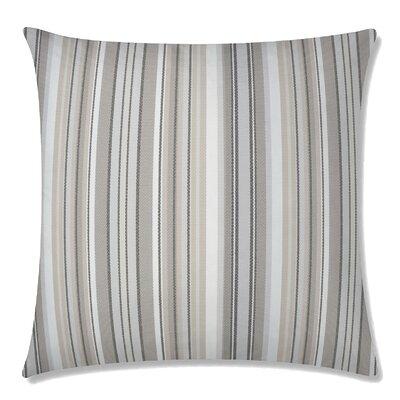 Dexter Square Throw Pillow Color: Walnut