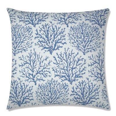 Coraline Square Throw Pillow Color: Indigo