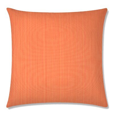 Breakers Square Throw Pillow Color: Orange