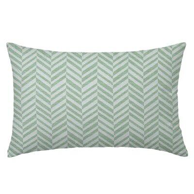 Skye Tweed Throw Pillow Color: Celadon