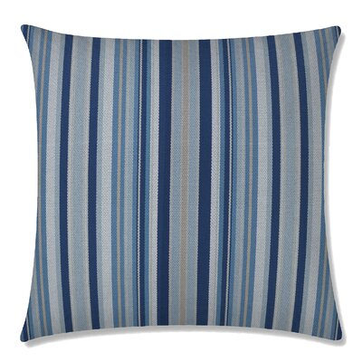 Dexter Square Throw Pillow Color: Atlantic