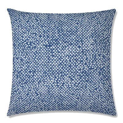 Conga Square Throw Pillow Color: Indigo