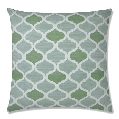 Infinity Square Throw Pillow Color: Seagrove