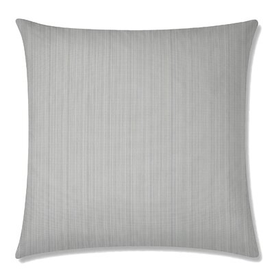 Breakers Square Throw Pillow Color: Gray