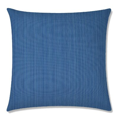 Breakers Square Throw Pillow Color: Blue