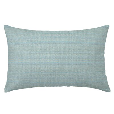 Handloom Rectangle Throw Pillow Color: Celadon