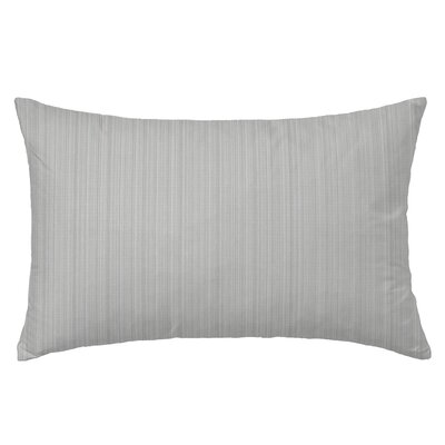 Breakers Rectangle Throw Pillow Color: Gray