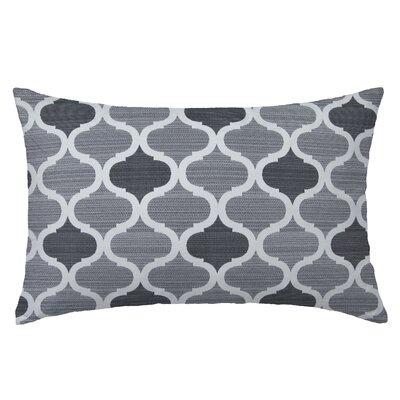 Infinity Rectangle Throw Pillow Color: Silver