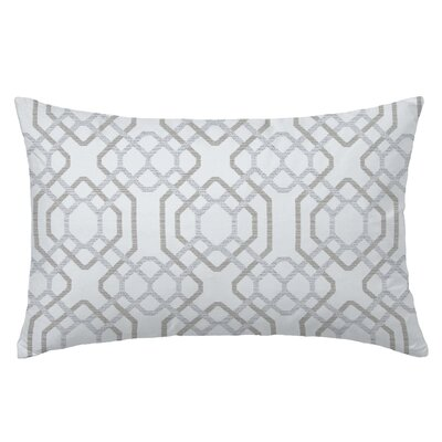 Alexandria Reactangle Throw Pillow Color: White Sand