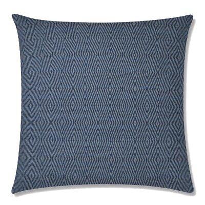 Dart Square Throw Pillow Color: Indigo