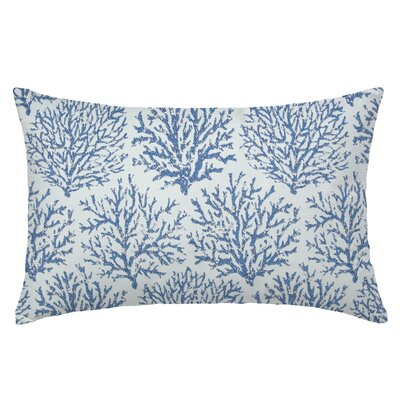 Coraline Rectangle Throw Pillow Color: Indigo