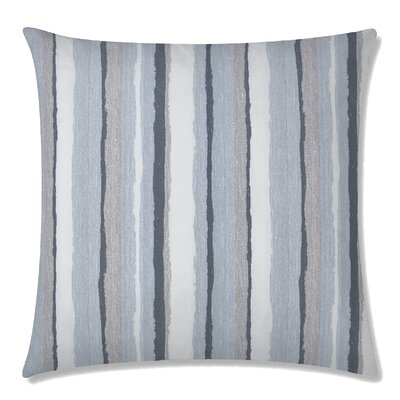 Mesa Square Throw Pillow Color: Silvemine