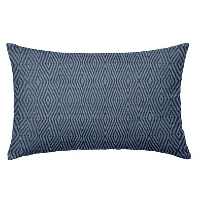 Dart Rectangle Throw Pillow Color: Indigo