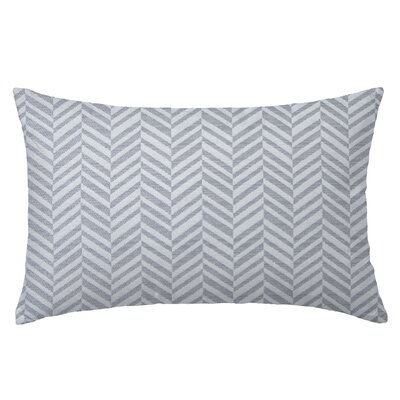Skye Tweed Throw Pillow Color: Shale