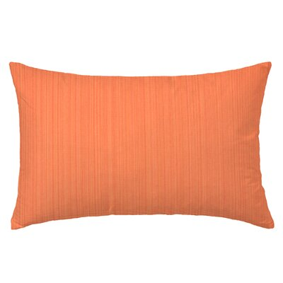 Breakers Rectangle Throw Pillow Color: Orange