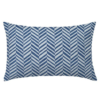 Skye Tweed Throw Pillow Color: Pacific