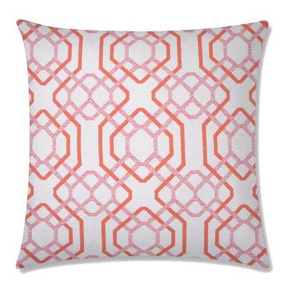Alexandria Square Throw Pillow Color: Maitai