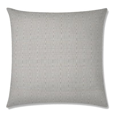 Dart Square Throw Pillow Color: Pebble