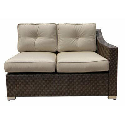 Tampa Left Arm Double Sectional Piece with Cushion