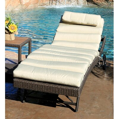 Tampa Chaise Lounge with Cushion