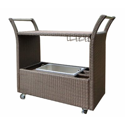 Tampa Bar Serving Cart