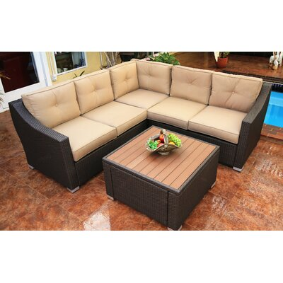 Tampa 6 Piece Deep Seating Groupl with Cushion