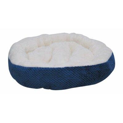 Cozy Dog Bed Color: Blue, Size: 2.5 H x 28 w x 28 D