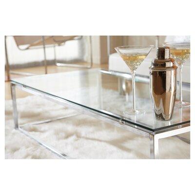 Eurostyle Sandor Coffee Table - Top Finish: Pure White