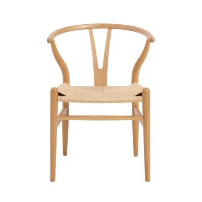 Evelina Side Chair Color: Natural