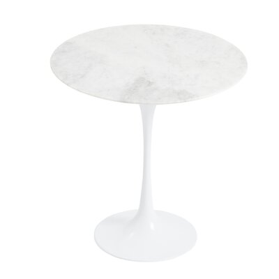 Brynn End Table Color: Marble