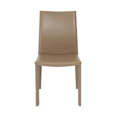 Arevalo Upholstered Side Chair Upholstery: Taupe