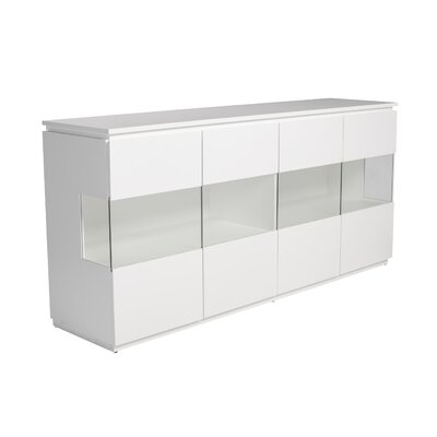 Simmons Sideboard Color: Matte White