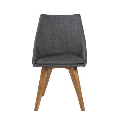 Calla Side Chair Upholstery: Dark Gray