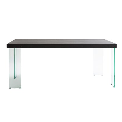 Cabrio Dining Table Top Color: Wenge