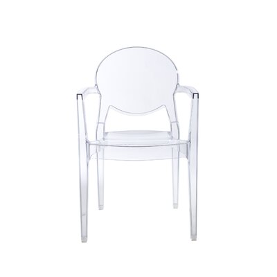 Igloo Arm Chair Finish: Transparent