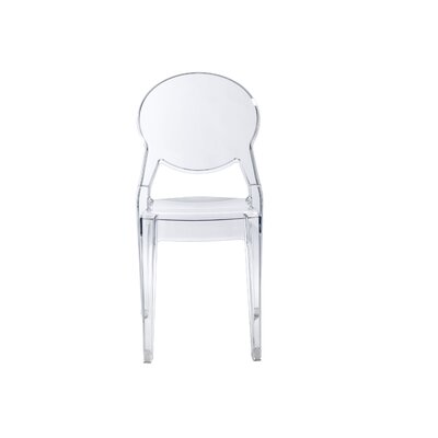 Igloo Side Chair Finish: Transparent