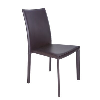 Odonoghue Upholstered Dining Chair Upholstery Finish: Brown
