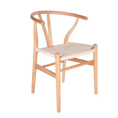 Stearns Solid Wood Dining Chair Frame Color: Natural