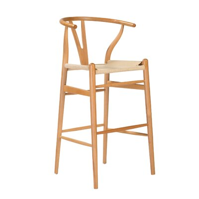 Stearns 42.92 Bar Stool Frame Color: Natural