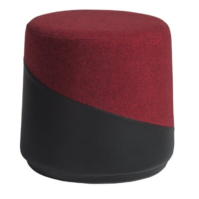 Fossen Pouf Upholstery: Red